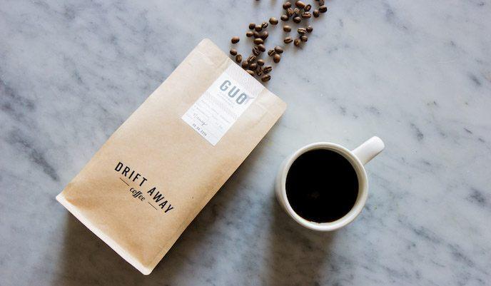 Driftaway coffee reviews - coffee on the table
