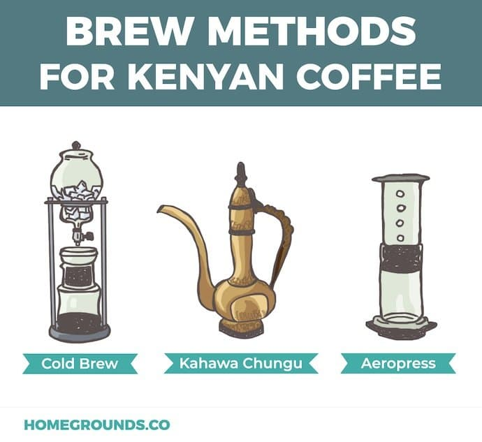 best methods for brewing kenya coffee bean