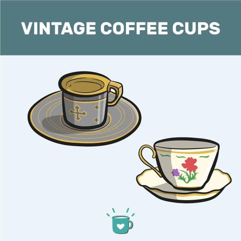 vintage cup image