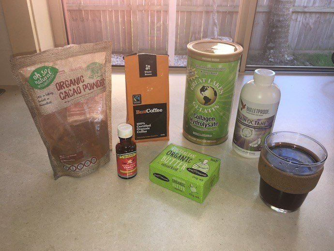 Bulletproof Cocoa Mousse ingredients