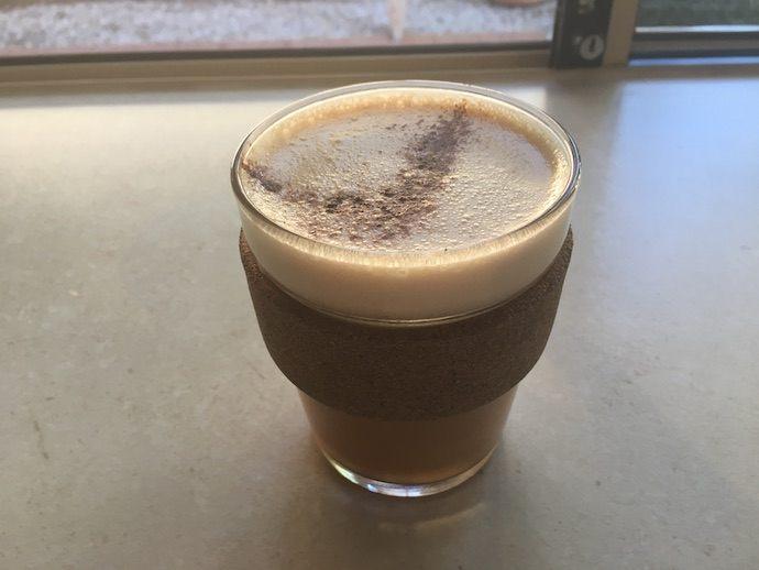 chai latte bulletproof serving