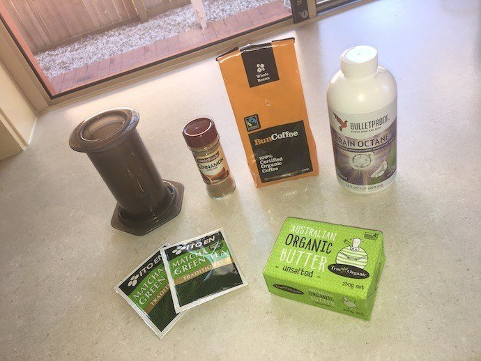 Japanese Bulletproof Matcha Green Tea ingredients