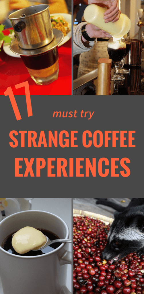 17 Super Strange Ways To Drink Coffee Pinterest