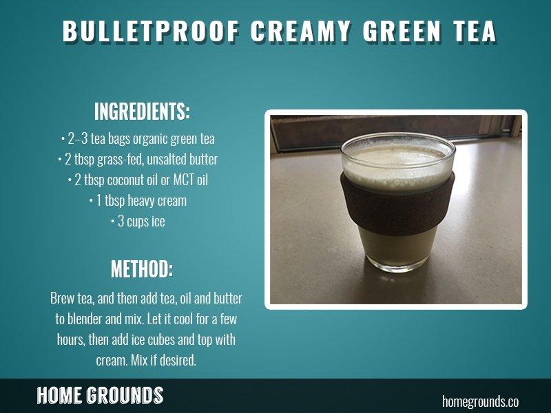 Bulletproof Green Tea Recipe
