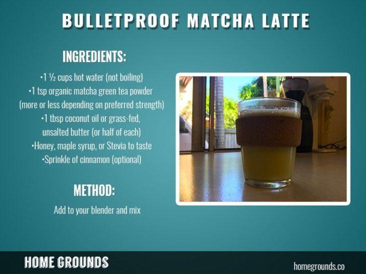 how to make Japanese Bulletproof Matcha Green Tea
