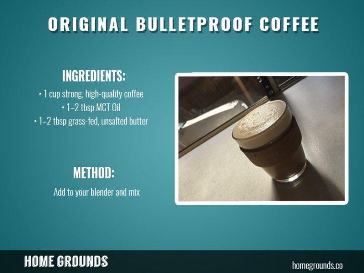 original bulletproof coffee recipe