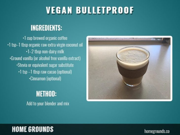 how to make vegan bulletproof coffee