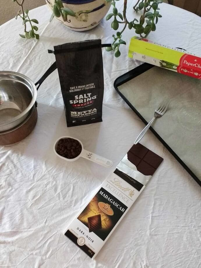 chocolate covered coffee beans ingredients