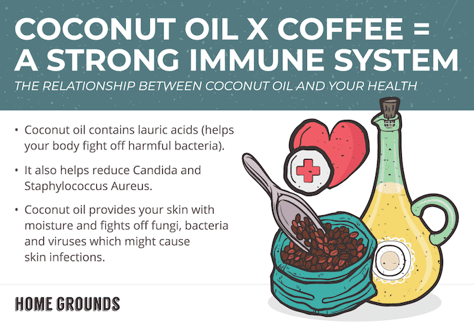 Coco Oil Strong Immune System 1