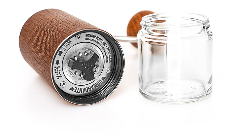 high precision burrs of the comandante grinder
