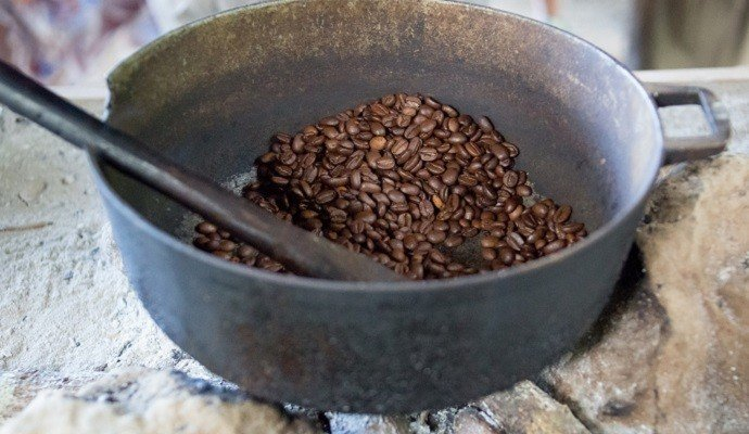 Traditional Coffee Roasting