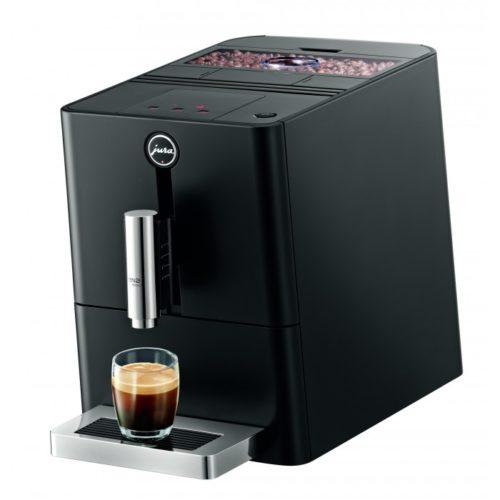 the jura ena micro 1 and a glass of espresso