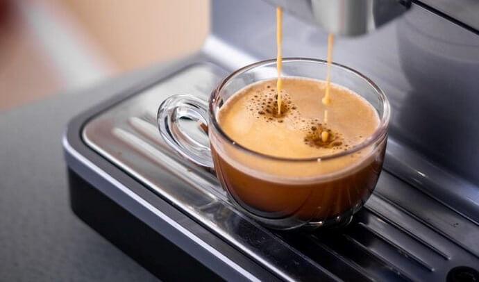 an espresso machine similar to the Gaggia Brera