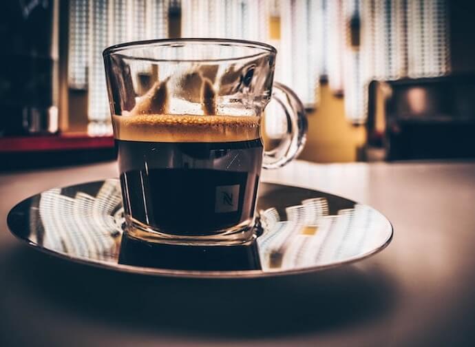 review of the nespresso pixie's espresso shot