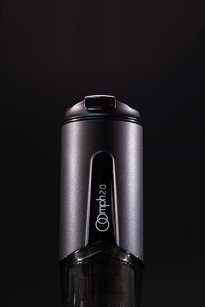 the Oomph Coffee Maker review on black background