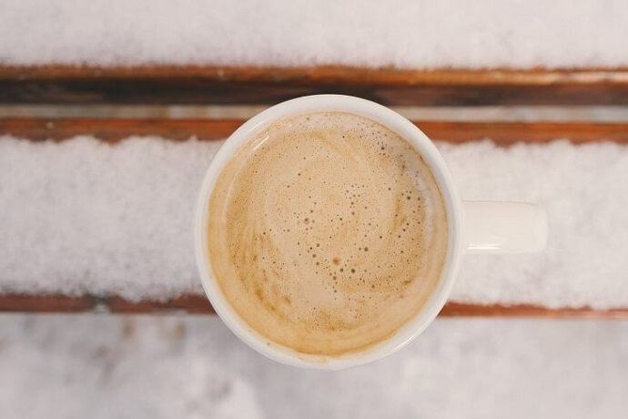 foamy coffee that can be made using the Jura E8