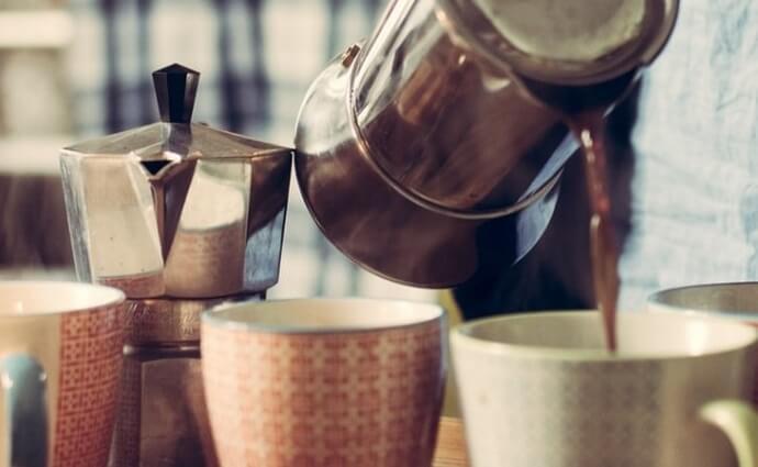 moka pots similar to the Tops Rapid brew percolator