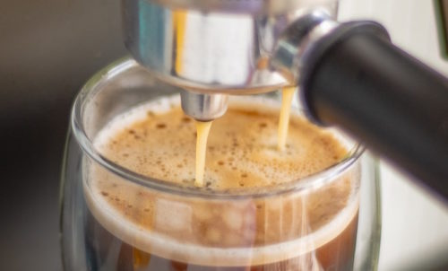 making espresso for this breville cafe roma review
