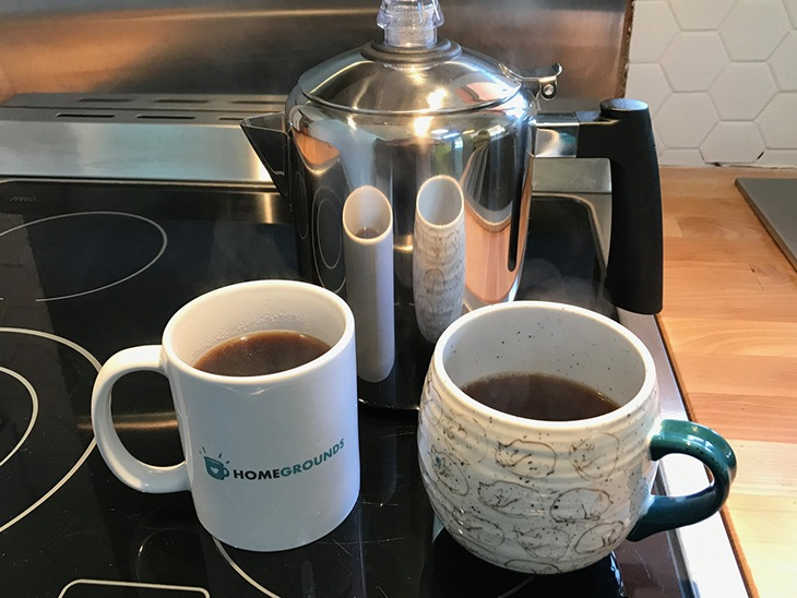 how to use a stovetop percolator to make coffee