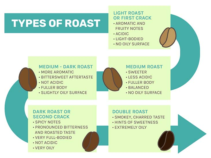 Coffee Roast infographic