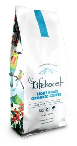 Lifeboost - the best light roast coffee