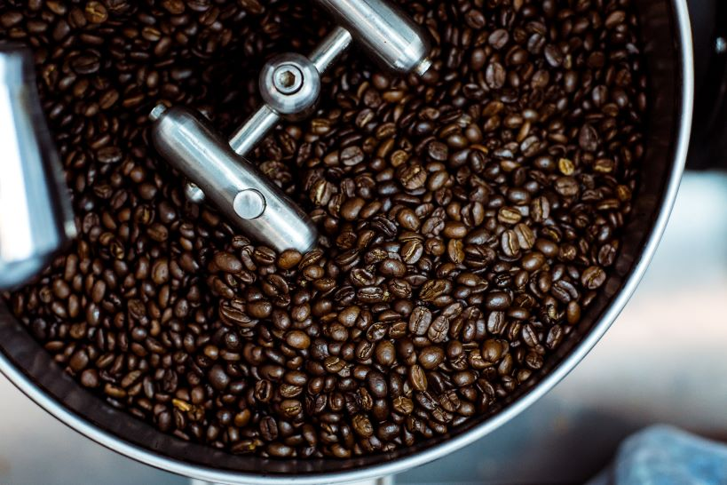 best dark roast coffee beans In roaster
