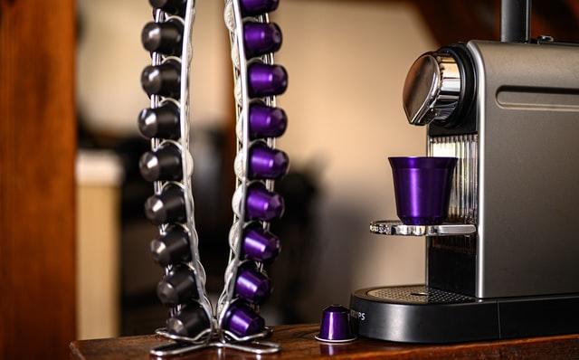 best nespresso machine and some purple pods