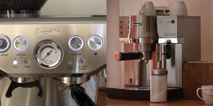 breville vs delonghi