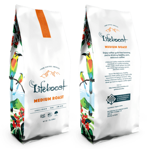 Lifeboost Coffee Medium Roast
