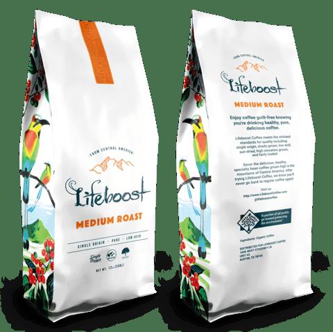 Lifeboost Coffee Medium Roast