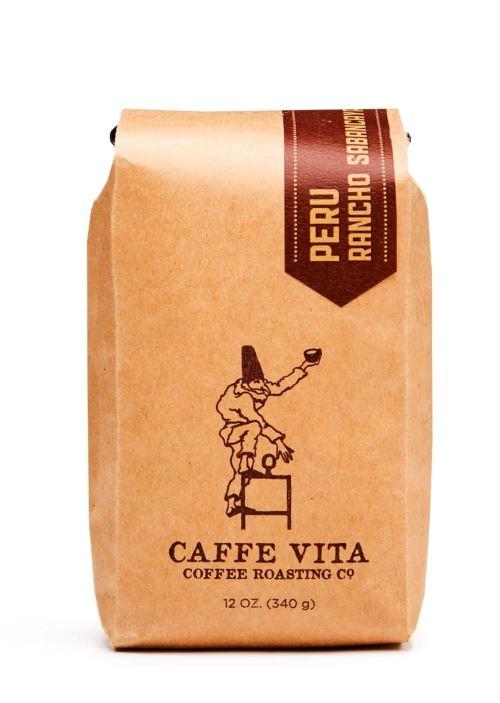 peru caffee vita coffee bag