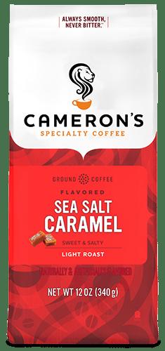 Cameron's Coffee sea salt caramel