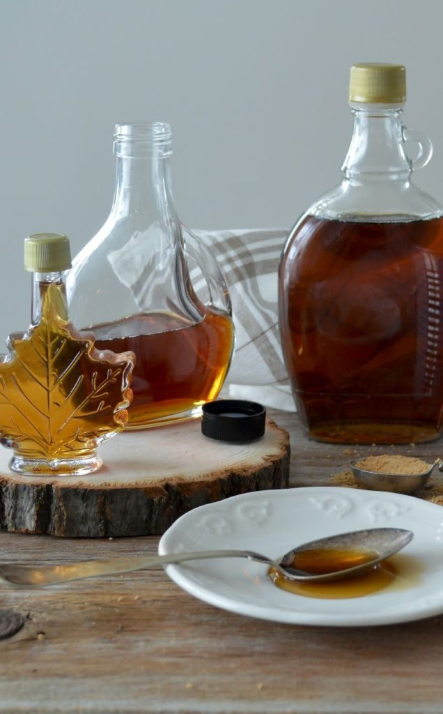 Mapple Syrup Bottle