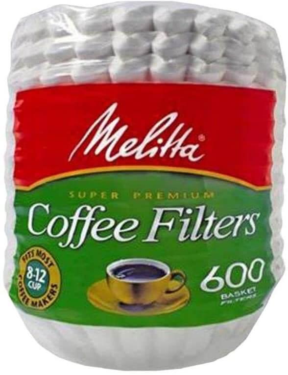 Melitta Paper Basket Filters -