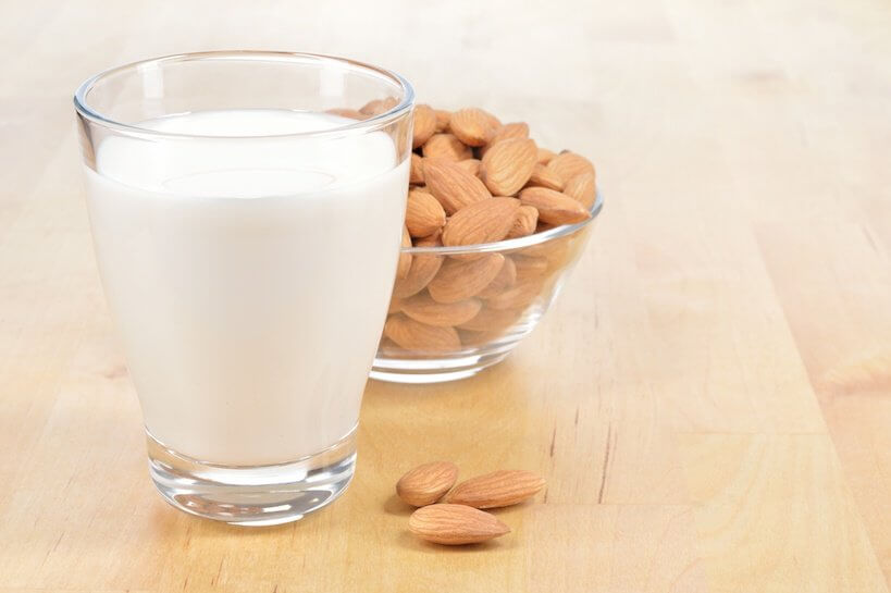 Glass of Almond Milk
