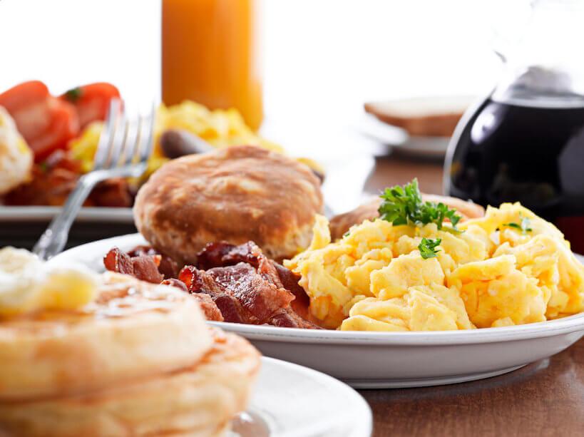 American Savory Breakfast