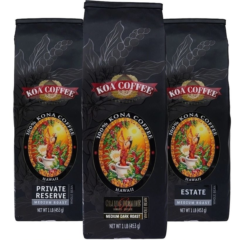 koa coffee medium three-pack