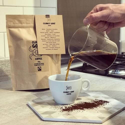 Clumsy Goat Coffee subscription