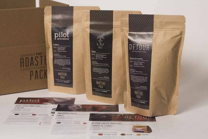The Roasters Pack coffee subscription