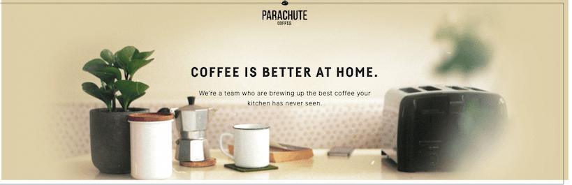 parachute coffee subscription