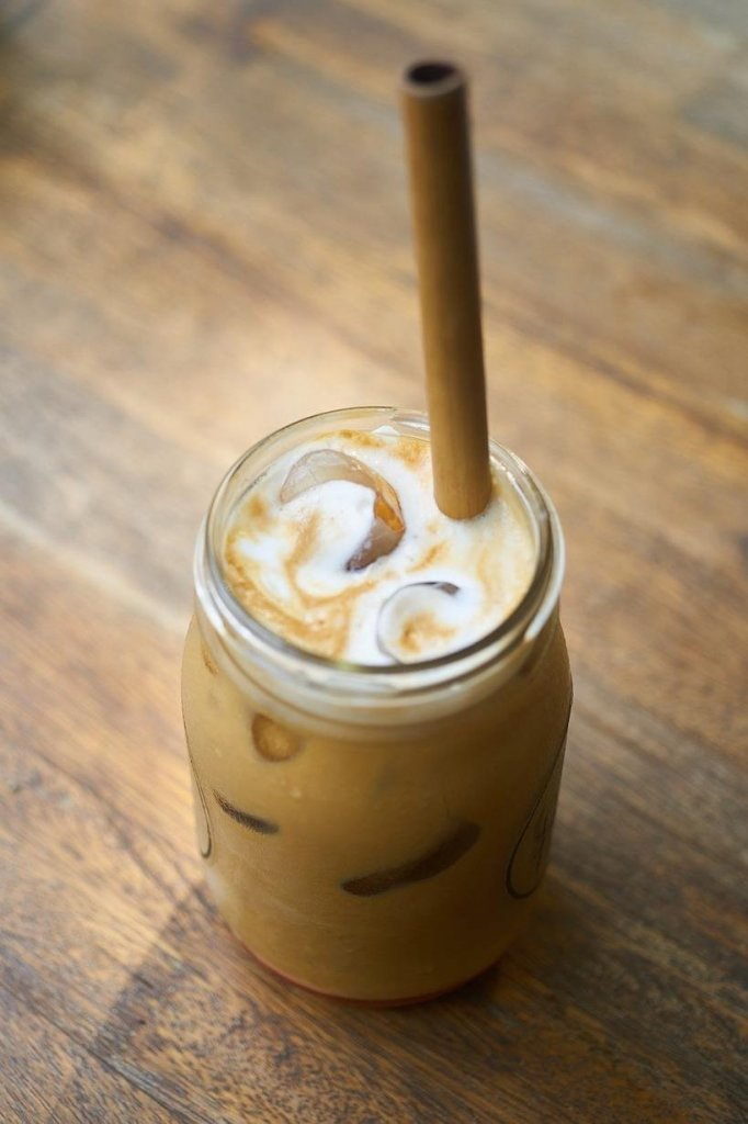 iced coffee made with a Keurig