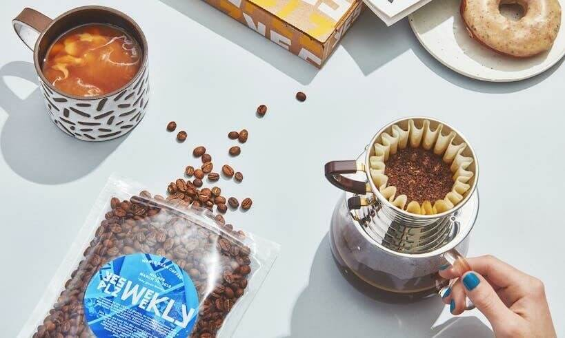 yes plz coffee subscription box