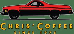 chris coffee logo