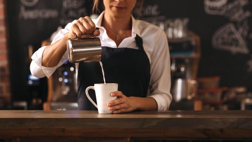 woman barista