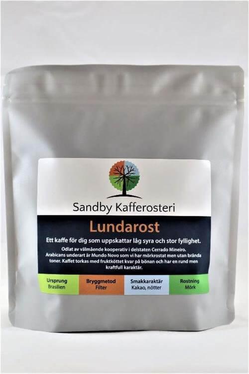 Sandby Kafferosteri – Lundarost