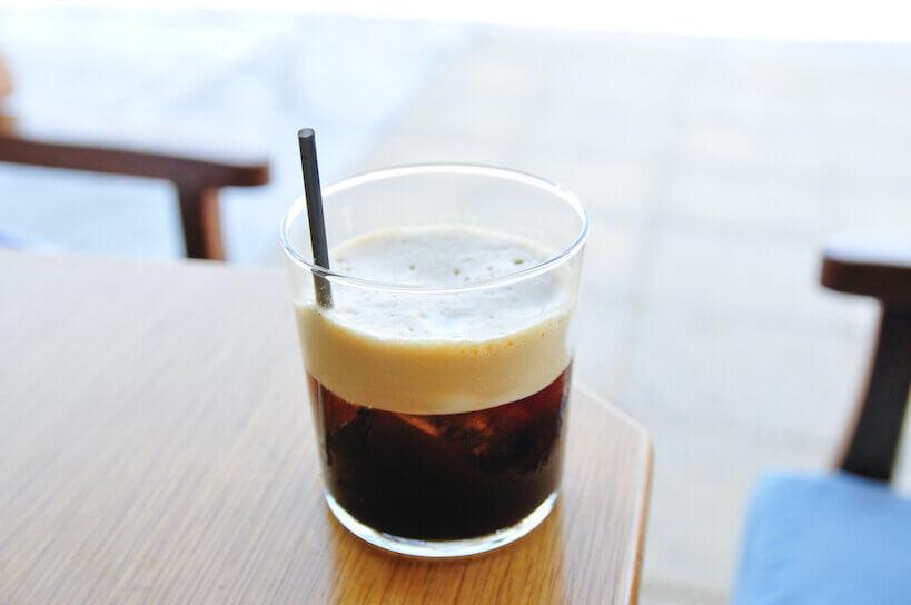 Freddo Espresso on a table