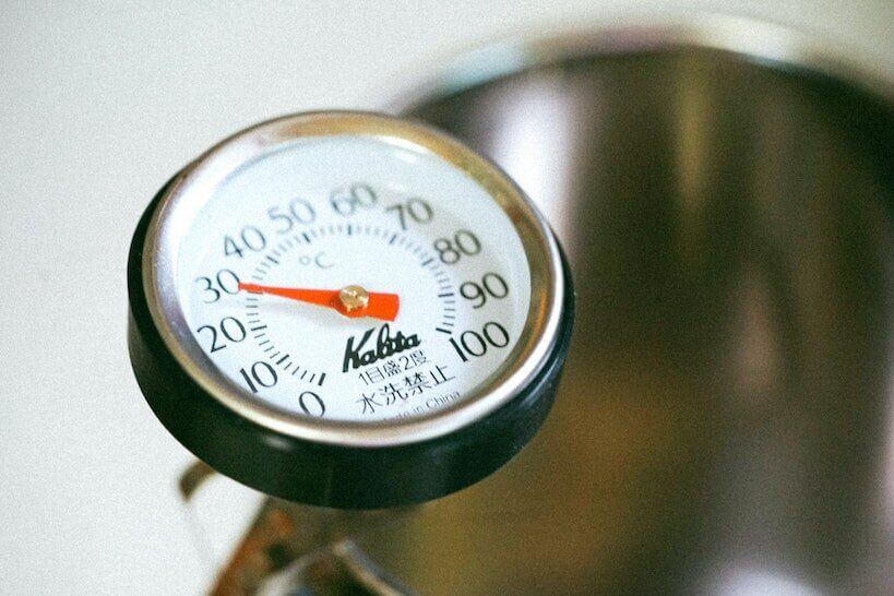 group head thermometer
