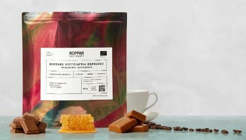 Koppars koffeinfria espresso - Bästa koffeinfria espresson